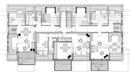 Grundriss mehrfamilienhaus 4 wohnungen