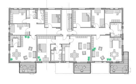grundriss mehrfamilienhaus neubau neubau mehrfamilienhaus stein tripet sa grundrisse und pl ne. Black Bedroom Furniture Sets. Home Design Ideas